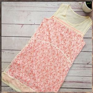 MARC BY MARC JACOBS Muriel Lace Silk Blend Dress S